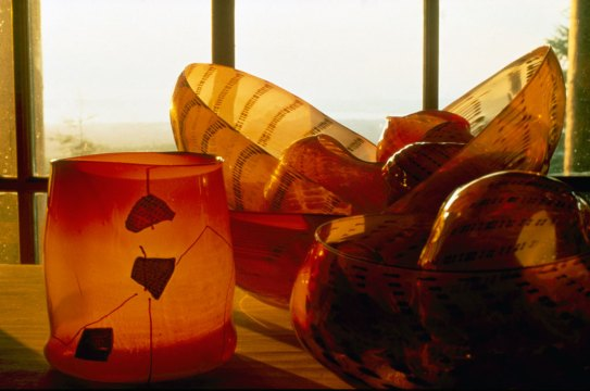 Dale Chihuly, Pilchuck Baskets, 1980. Edward Claycomb photograph