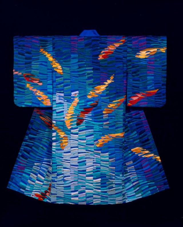 Tim Harding, Koi Kimono, 2006. Petronella Ytsma photograph