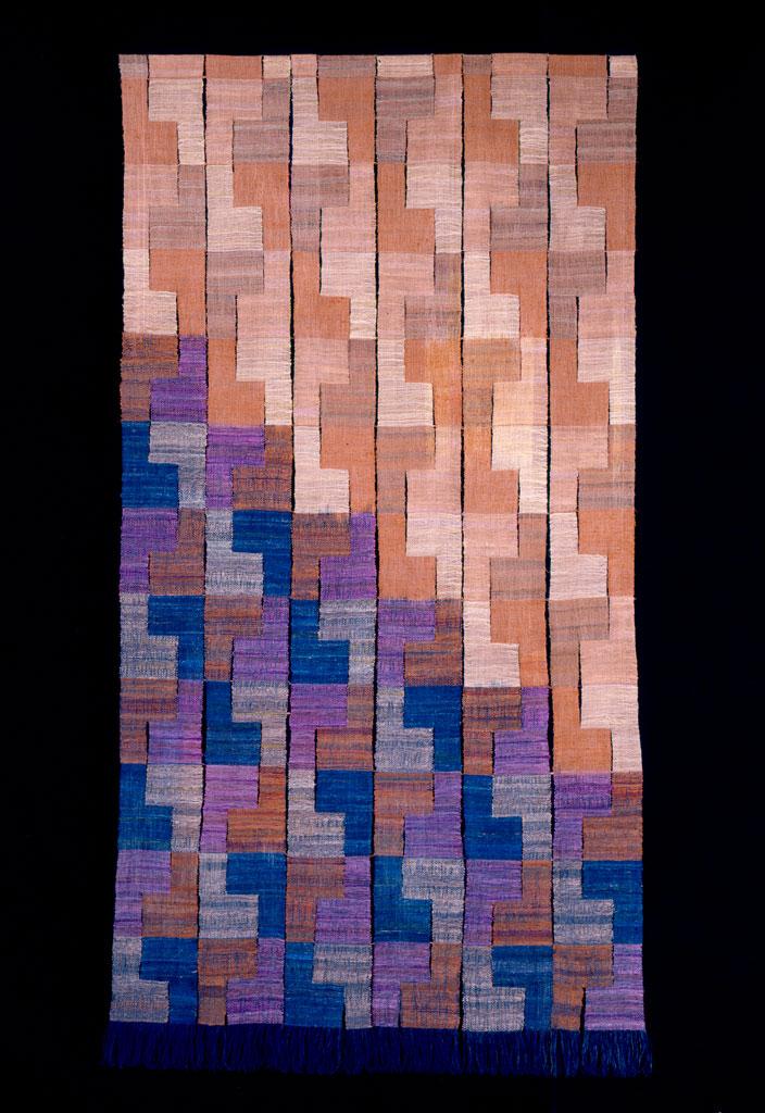 Jim Bassler, Tracking Nasca Pattern Tapestry, 2006