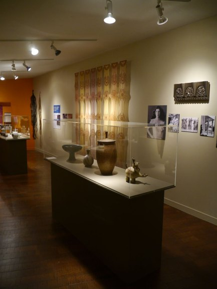 Bernard Kester, Footed Bowl; Marguerite Wildenhain, Untitled vase; David Cressey, Untitled covered jar