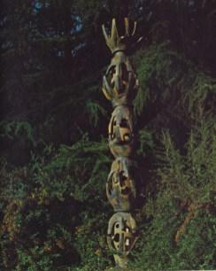 Fountain by David Cressey, 13 feet high Photo taken from CA Design 9 page 29 Catalogue Photographer Richard Gross Catalogue Designer Robert Ellis
