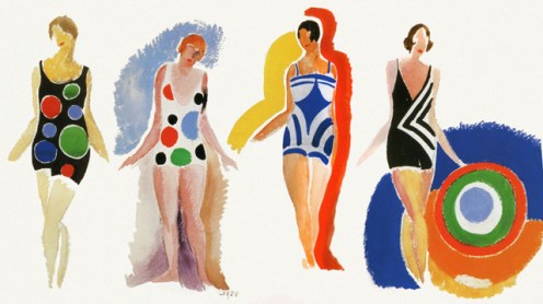 Just an extra picture of some of Sonia Delaunay's beautiful designs