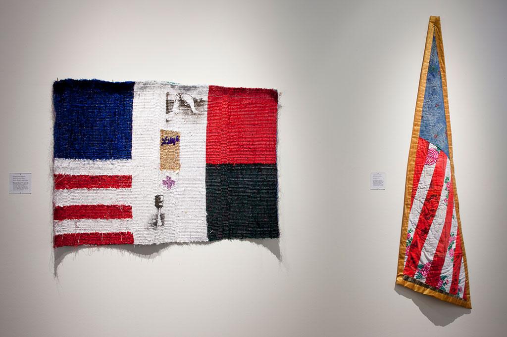 Consuelo Jimenez Underwood, Flags