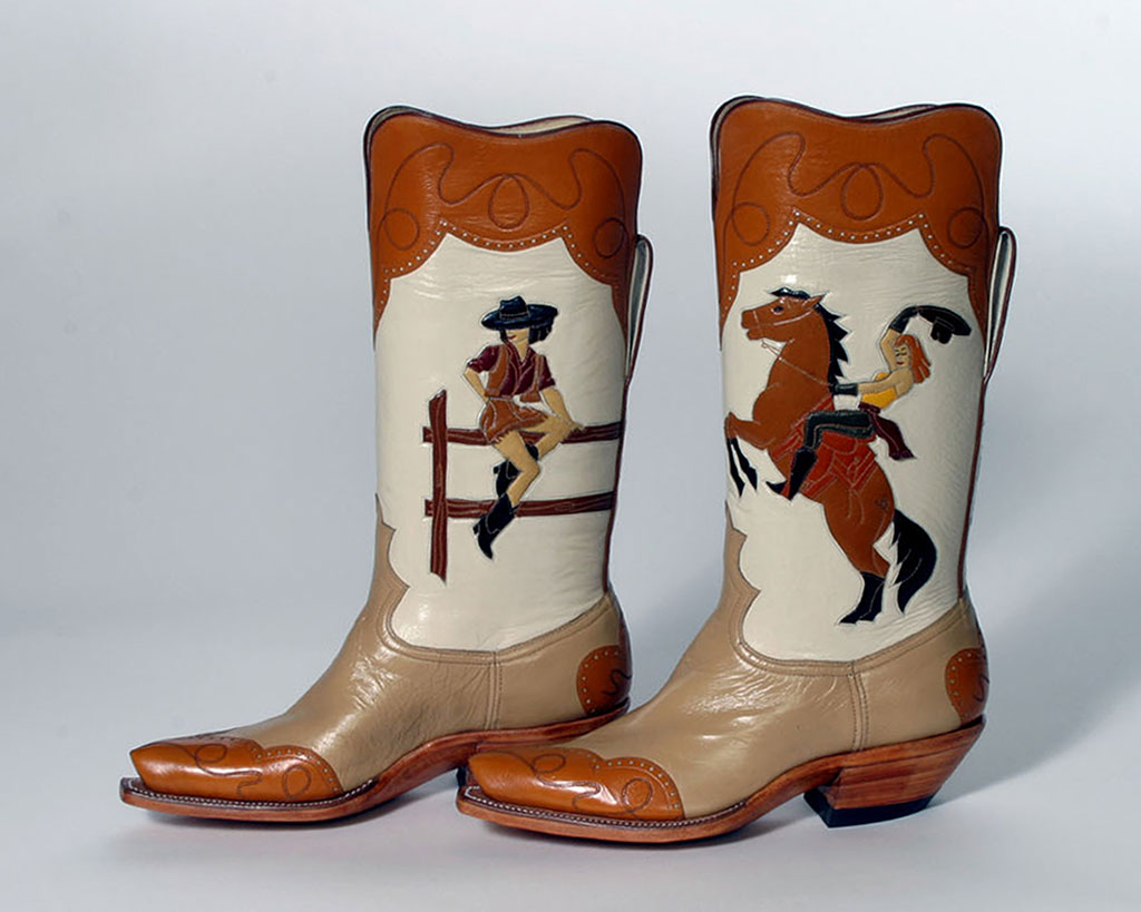 Lisa Sorrell, Cowboy Boots, I want to be a Cowboy's Sweetheart, Leathercraft, Bootmaking, Sorrell Custom Boots, Family episode, Craft in America