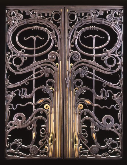 Albert Paley, Portal Gates, 1974. Courtesy of Paley Studios, Bruce Miller photograph
