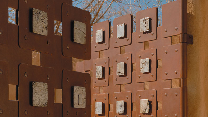 Tom Joyce, Rio Grande Gates, 1997, Nick Merrick Photograph