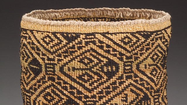 Pat Courtney Gold, Honor the Wasco Weaver of the 1805 Basket Collected by Lewis and Clark, 2003