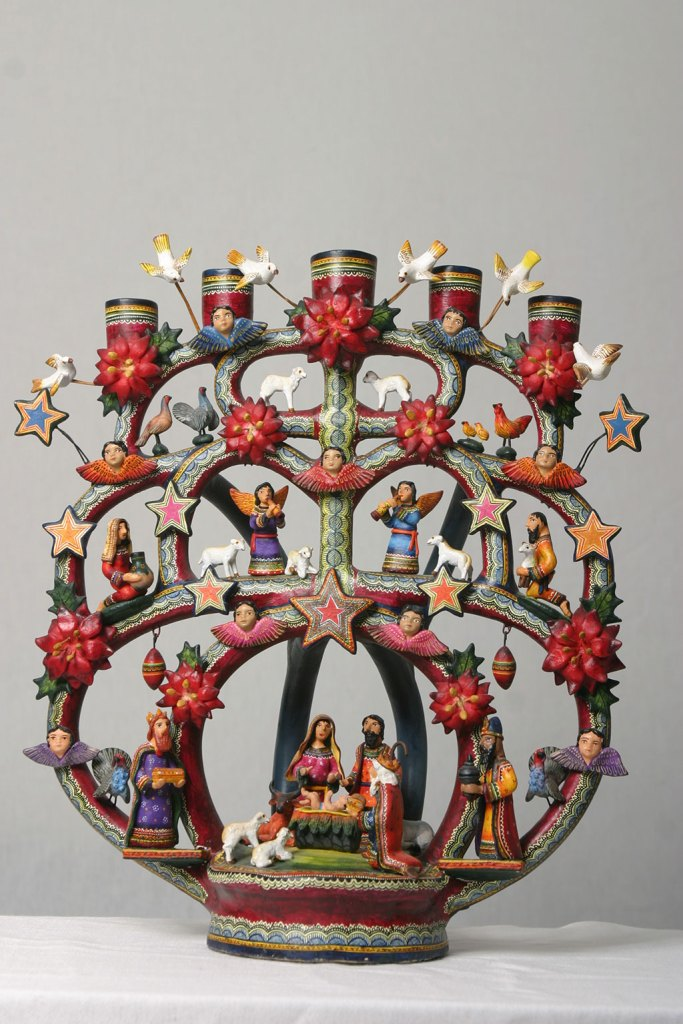 Veronica Castillo, Nacimiento (Nativity) Tree of Life