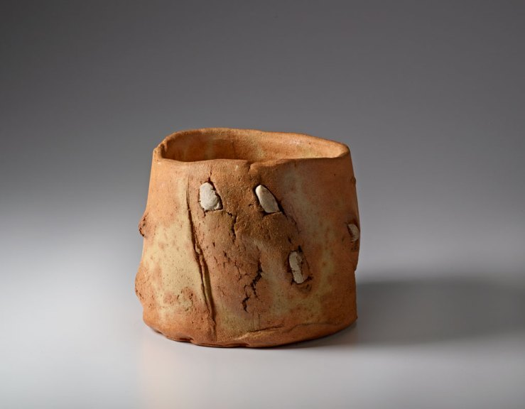 Peter Voulkos, Untitled Tea Bowl, Courtesy of Forrest L. Merrill, M. Lee Fatheree photograph