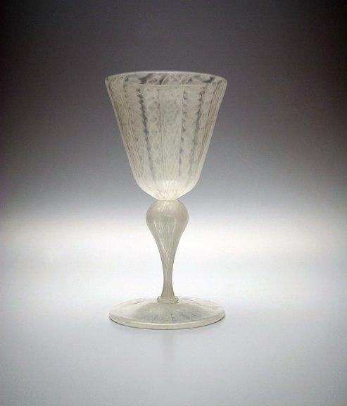 Aya Oki, Pale Lace Pattern Goblet