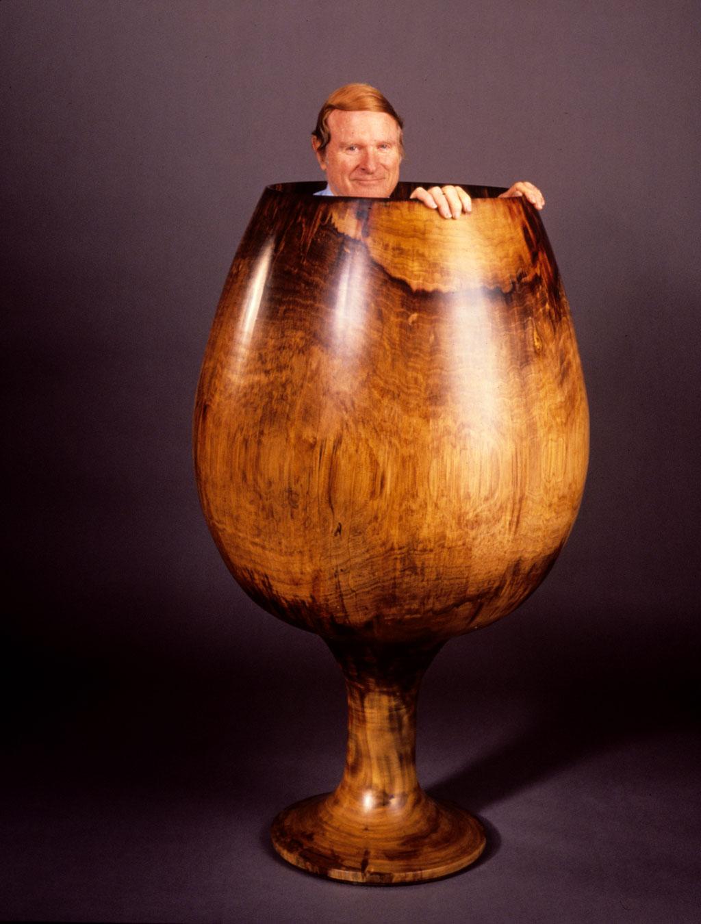 Ed Moulthrop, Turned Wood. Paul G. Beswick photograph