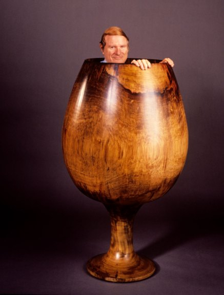 Ed Moulthrop, Turned Wood. Paul G. Beswick photograph