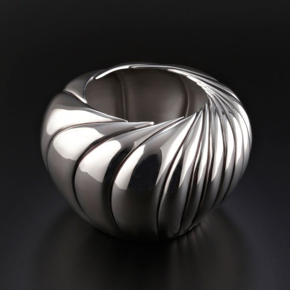 Randy Stromsoe, Desert Bloom, 2014, Silversmith, Craft in America