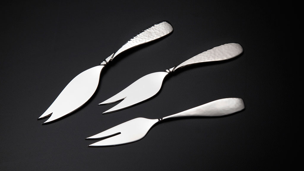 Randy Stromsoe, Handforged Olive Pickle Forks