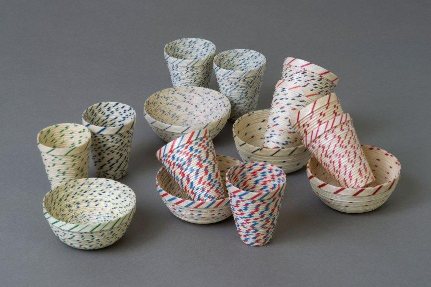 Karyl Sisson, Faux Pots (Salsa Sets), 2015