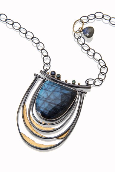 Sydney Lynch, Faceted Labradorite Necklace