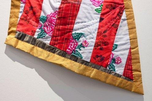 Consuelo Jimenez Underwood, Maize Flag Detail