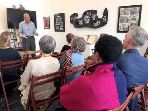 Jerry Gottschalk talk and opening
