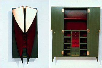Maruyama's post-modern furniture includes this dresser from the 1980s