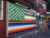 Victor De La Rosa, 2013, Future Flags of America: Study for 2050 U.S. Flag Tag