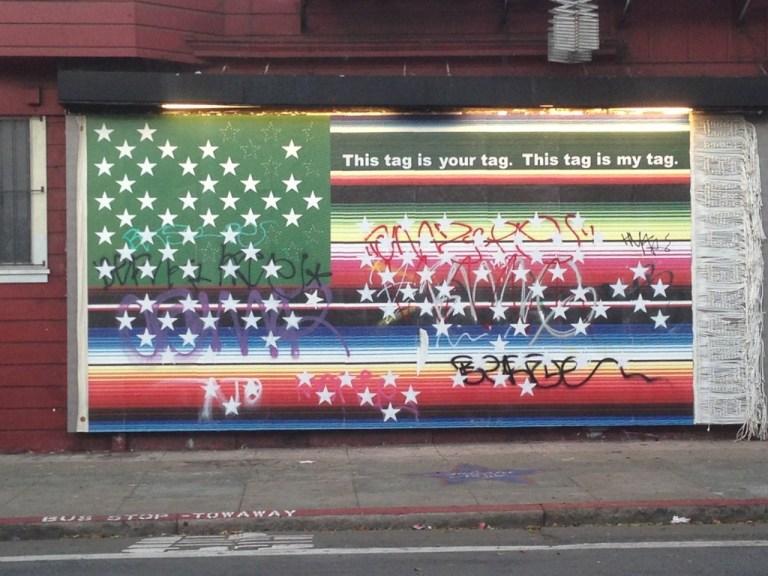Victor De La Rosa, 2013, Future Flags of America: Study for 2050 U.S. Flag