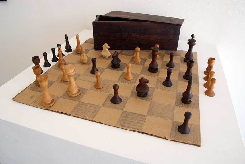 Victor Di Novi, Chess Set, 1967