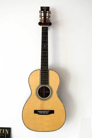 C.F. Martin & Co., 0-42 Martin Custom Shop 'Concert' Acoustic Guitar, 2015, carpathian spruce, guatemalan rosewood, crained ivoroid, mahogany, ebony, bone, abalone inlay.