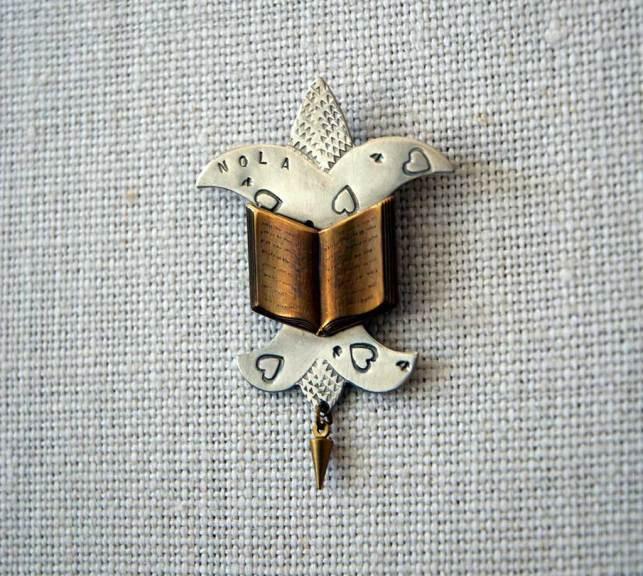 Thomas Mann, NOLA Trefoil pin, 2011