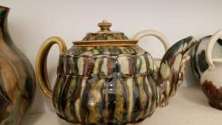 Linda Sikora Tea Pot
