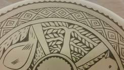 Matthew Metz plate (detail)