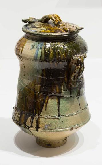 Don Reitz, Tie Down Lidded Vessel, c.1975