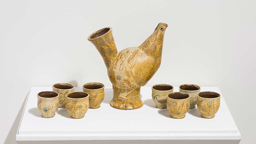 Frances Senska, Tea Set, c.1990