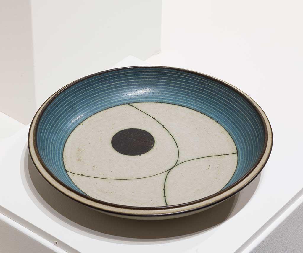 Harrison McIntosh, Platter, 1972
