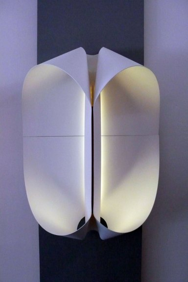 Po Shun Leong, Double ovoid wall light- 2nd Prototype, 2015