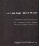 CALIFORNIA DESIGN 9
