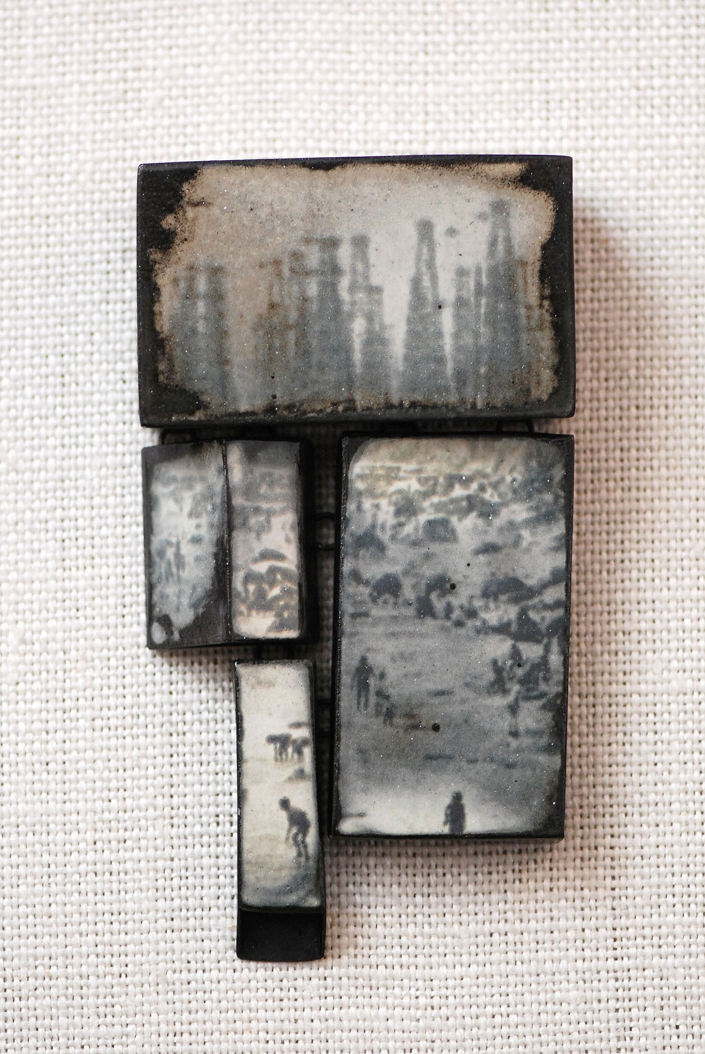 Kat Cole, Oil and Water: Huntington Beach Brooch, 2016