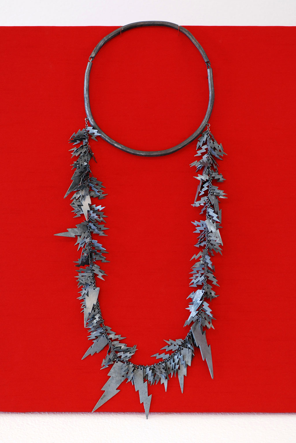 Jana Brevick, Power Supply Necklace, 2015