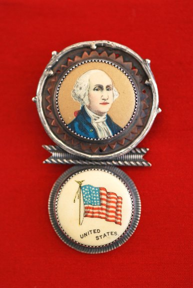 Roberta and Dave Williamson, George Washington Pin, 2016