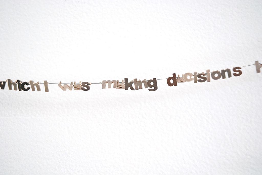 Taweesak Molsawat, Is that right? Neckpiece, 2005