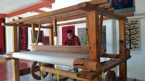 Loom, Vasquez Family, J. Isaac Vasquez Garcia, Borders Neighbors, El Pueblo, Craft in America