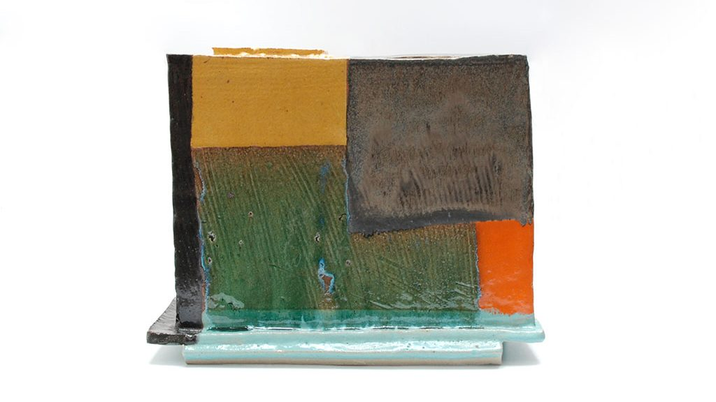 John Gill, Square Vase, 2016