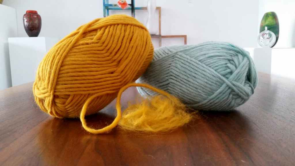 Wool fibers for needle felting