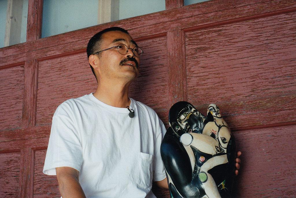 Akio Takamori at the 50th Anniversary of Archie Bray, 2001