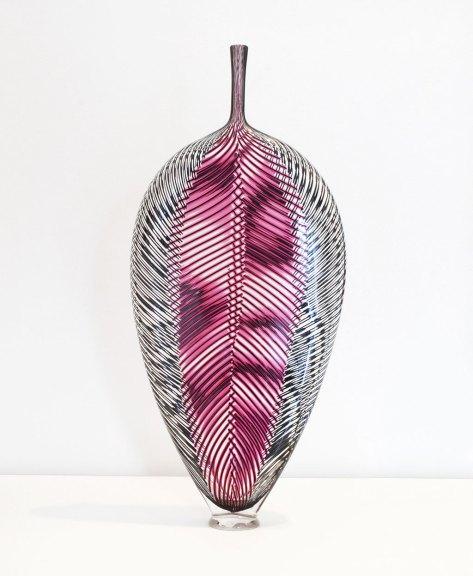 Dante Marioni, Ruby Leaf, 2014