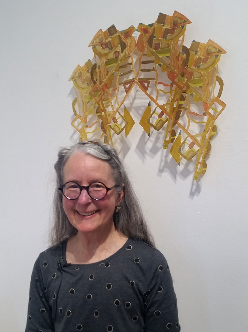 5d02ec316 Joy Stocksdale's textile interest came while in high school in 1965 with  machine embroidery. After college she continued to work with and teach  stitching, ...