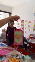 Valentines workshop with Corinna Cotsen