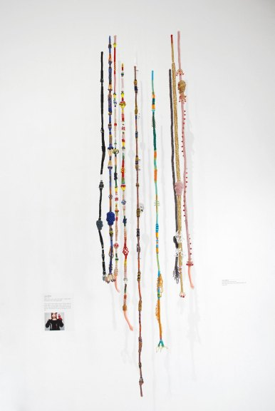 Teresa Sullivan, [Hanging Beaded] Bell Pulls, 2010