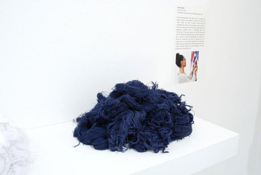 Sonya Clark, Unraveled, 2017