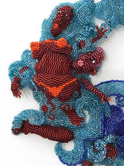Joyce J. Scott, Peeping Redux, 2010