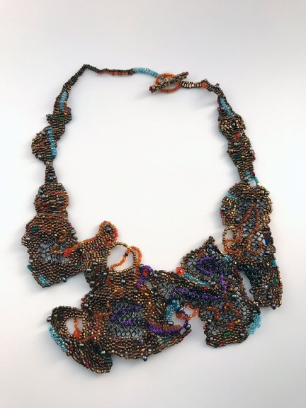 Joyce J. Scott, Copper, c. 1990